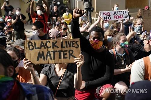 [美 흑인사망 시위] 뉴욕시, 77년 만에 역대급 통행금지...약탈·방화 계속