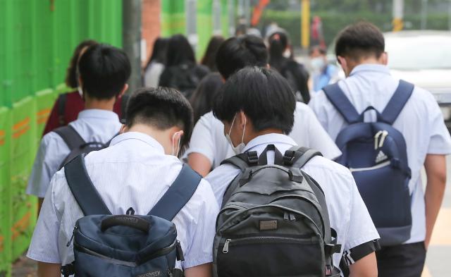 [포토] 등교하는 학생들