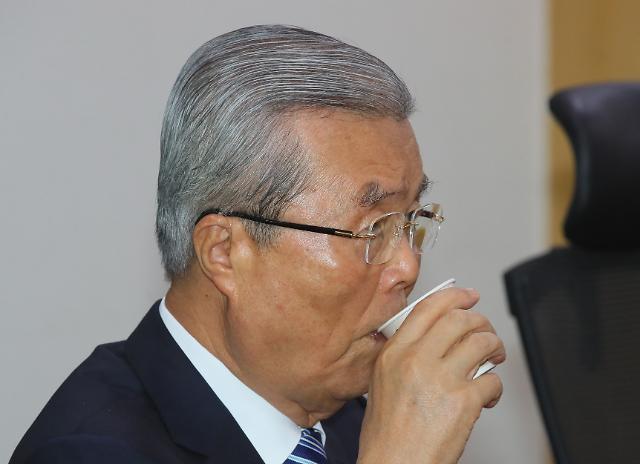 """김종인 """"물질적 자유 극대화가 정치의 기본 목표"""""""