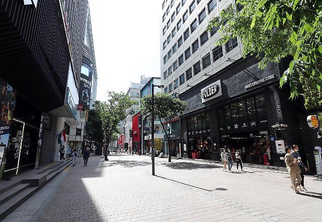 从数字看疫情影响 首尔商店销售额减少3.2万亿韩元