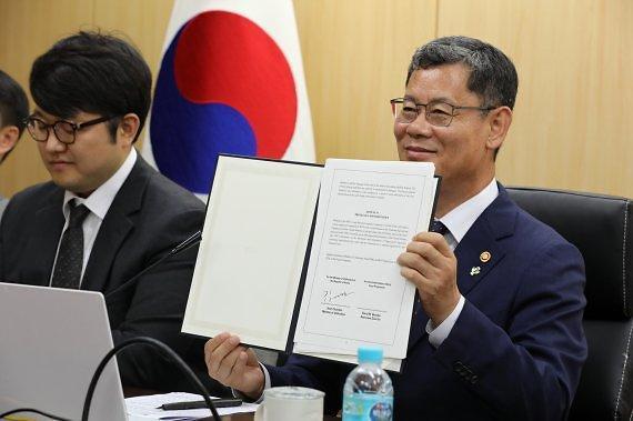 통일부-WFP 5년간 협력 강화 MOU 체결…대북사업 공여 방안도 협의