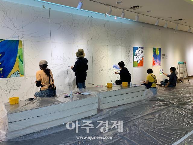 """평택시문화재단, 코로나19 극복을 위한 """"내일을 그리는 희망 담벼락""""프로젝트 진행"""
