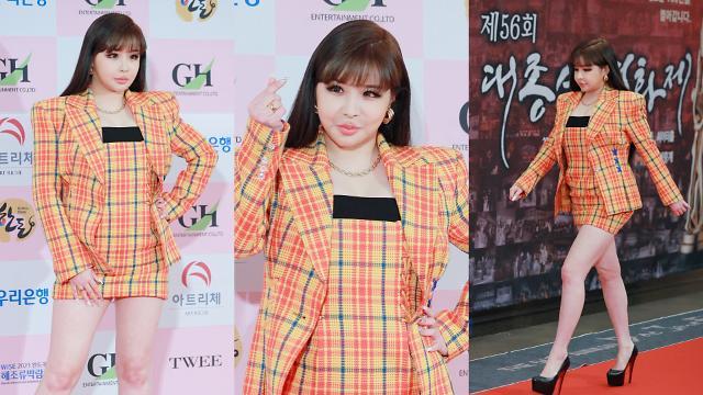 [슬라이드 화보] 박봄 몰라보게 달라진 외모