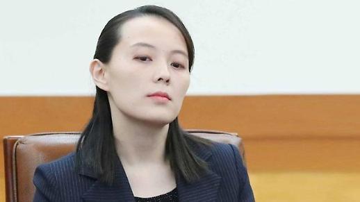 金与正强烈谴责韩方散布反朝传单