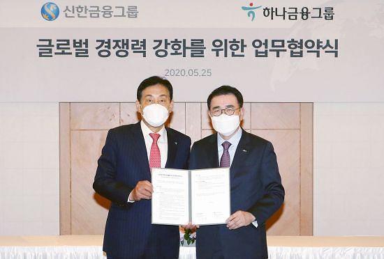 신한·하나銀, 해외 신디케이션론 공동 참여…글로벌 협력 가시화