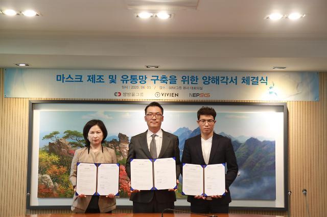 韩内衣企业SBW Inc将推进口罩生产项目