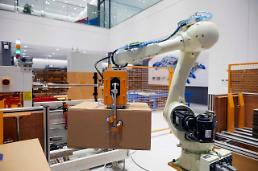 . CJ Logistics involved in development of logistics robots to ease manual work.