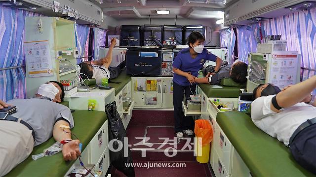 경주엑스포, '코로나 혈액난 극복' 헌혈 앞장