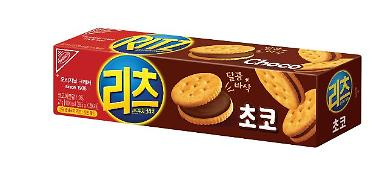 동서식품, 신제품 '리츠 샌드위치 크래커 초코' 출시