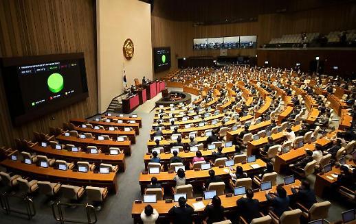 韩国国会今日下午将召开正式会议