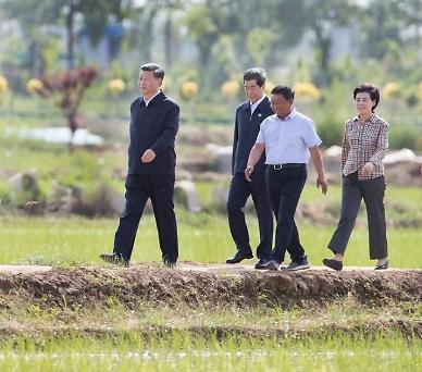 中 시진핑 주석, 닝샤 시찰기