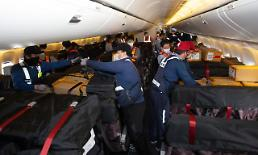 .Korean Air allowed to install cargo seat bags in passenger aircraft cabins.