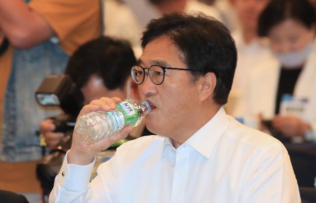 우원식, 이낙연·김부겸에 전대 출마 재고 요청