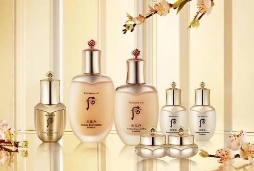 去年韩国化妆品贸易顺差同比增长12%