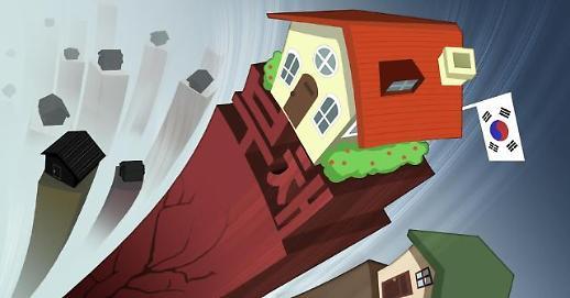 韩国家庭负债环比增速在全球43个国家中位列第一
