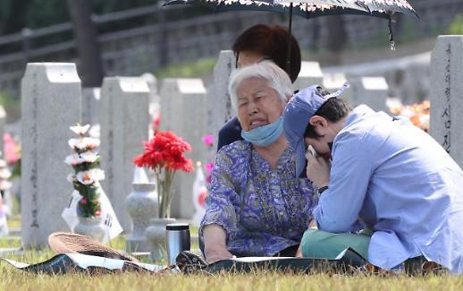 6·25战争迎爆发70周年 烈士遗属寄哀思