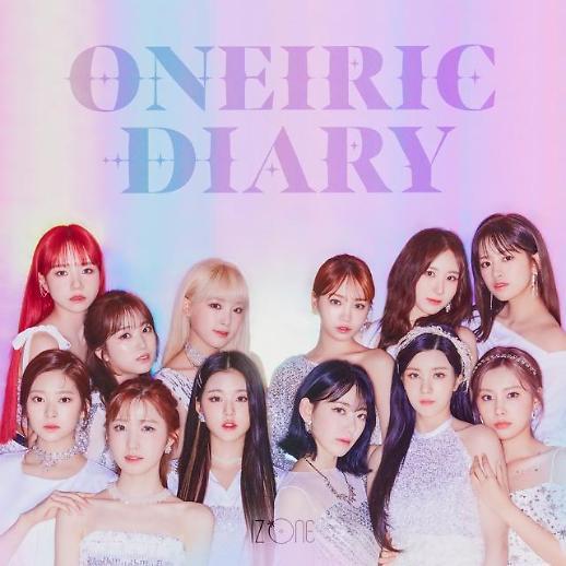 IZ*ONE新专辑《Oneiric Diary》刷新韩国女团初期销量纪录