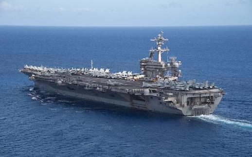 美方两艘航母集结菲律宾海 展示战力震慑朝鲜