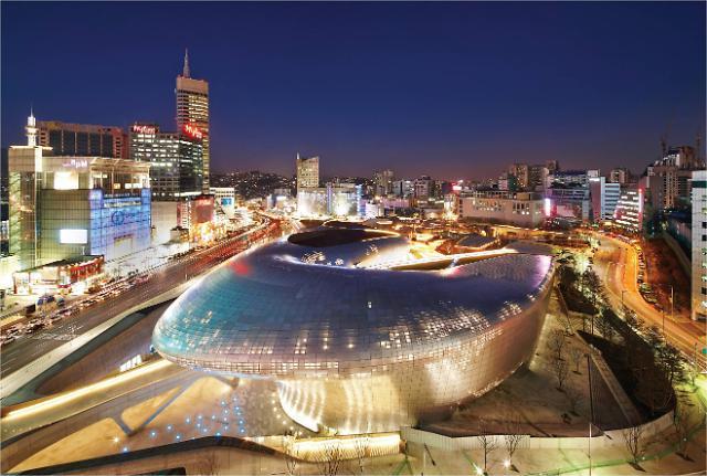 [서울 랜드마크④]서울 한 가운데 거대한 우주선…패션 중심지 DDP