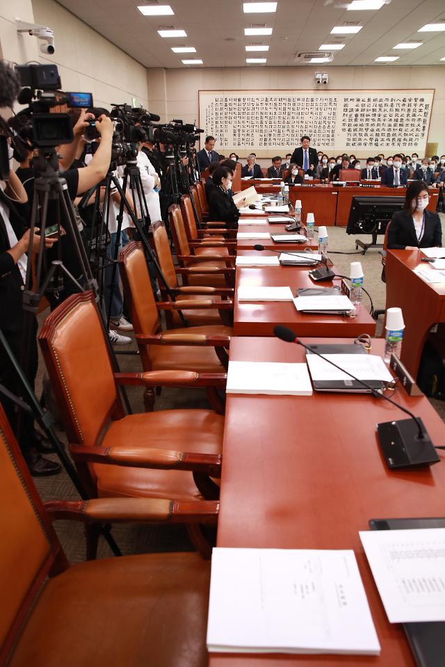 與, 법사위서 사법개혁 촉구...윤석열 출석 압박도