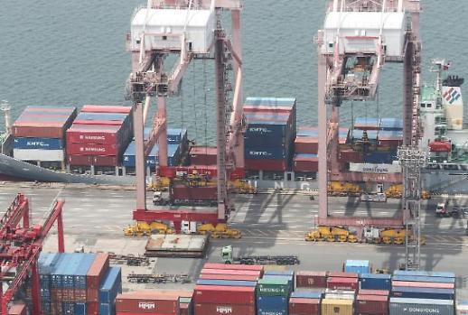 去年韩企对华出口占比整体扩大 对美日出口下滑