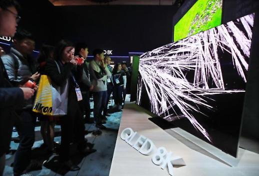 报告:2024年8K电视市场份额有望增至1%