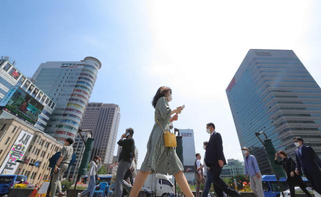 IMF下调今年韩国经济增长预期至-2.1%