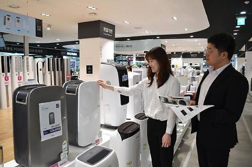 韩国进入梅雨季 除湿器烘干机等销量增加