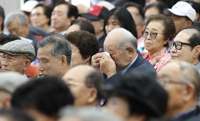 【6·25战争70周年】韩1300多名离散家属离世