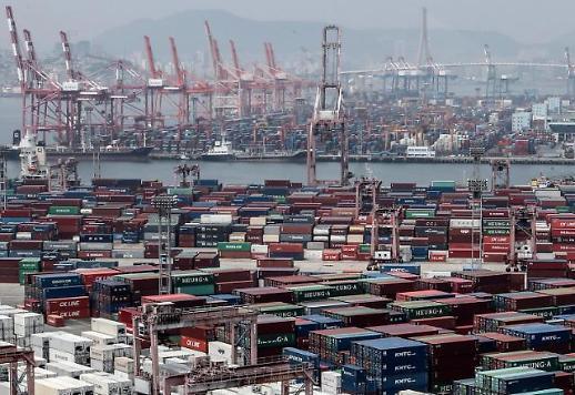 韩国5月出口量指数同比下滑15% 创金融危机后最大降幅