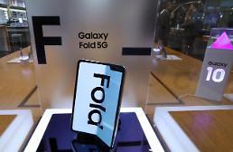 .三星下半年将推两款折叠屏手机.