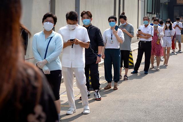 中베이징 829만명, 코로나19 핵산 검사 완료