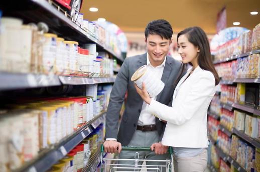 出生率下跌网购流行 韩奶粉线下销售额过去四年锐减30%