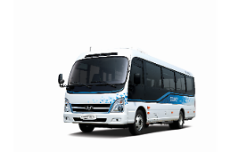 .Hyundai Motor unveils first electric minibus with enhanced safety functions .