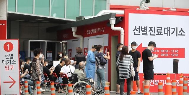 韩国新增43例新冠确诊病例 累计12800例