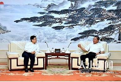 장수핑 옌타이시 당서기, 하이얼과 협력방안 논의 [중국 옌타이를 알다(476)]