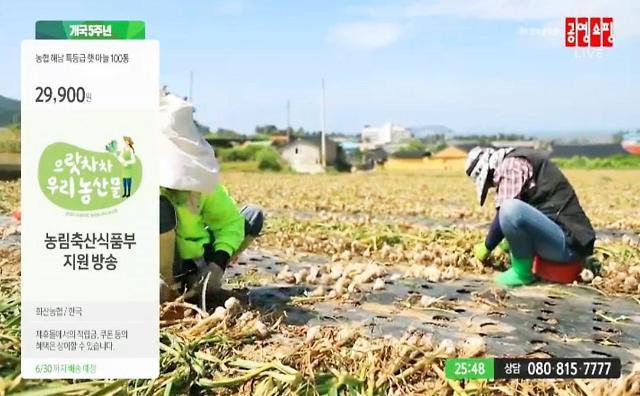 aT, 공영‧홈앤‧GS 홈쇼핑 통해 10월까지 우수특산물 판매