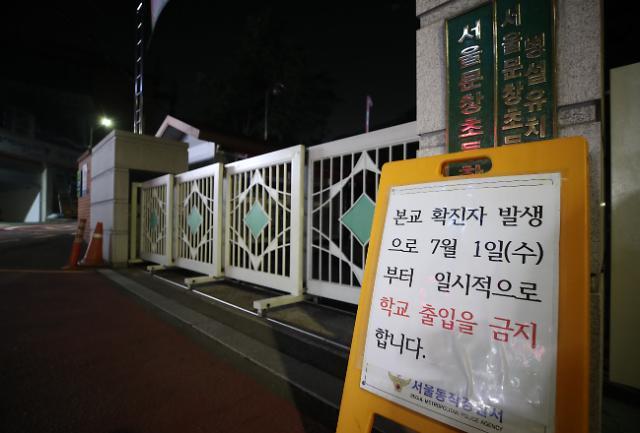 [포토] 폐쇄된 문창초등학교