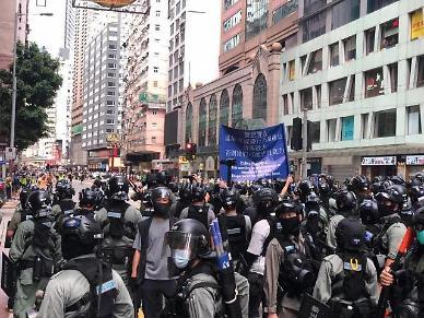 홍콩 내 커지는 불안감…보안법 너무 세, 집행 자제해야
