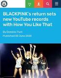 .BLACKPINK新歌创下5项吉尼斯纪录 跻身国际一线女团.