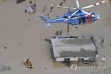 폭우 덮친 일본, 규슈지방 피해 속출...노인요양시설서 16명 심폐정지