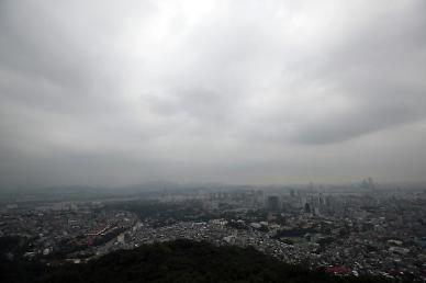 [날씨] 월요일, 구름 많고 낮 최고 31도…서울·경기북부 등 비 소식