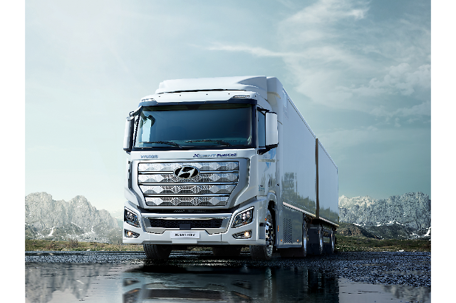First batch of Hyundais fuel cell trucks heads for Switzerland