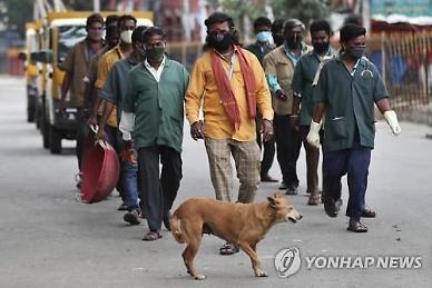 [코로나19] 인도, 누적 확진자 70만 육박...러시아 제치고 세계 3위
