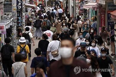 일본 도쿄서 닷새째 세 자릿수 코로나19 확진자 쏟아져...남부는 폭우로 비상