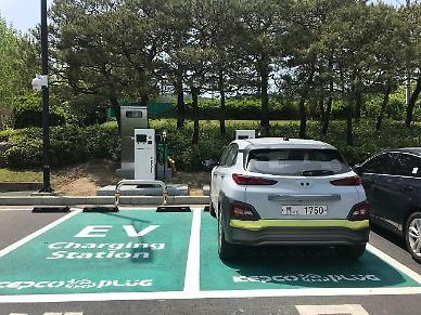 KEPCO develops easy charging method for electric vehicles