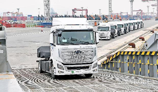 [NNA] 현대車 수소트럭, 유럽에 첫 수출