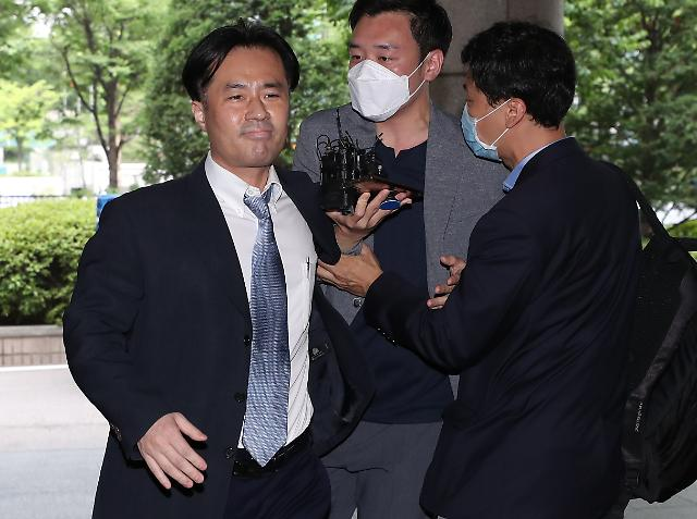 [포토] 법정 구속된 김웅