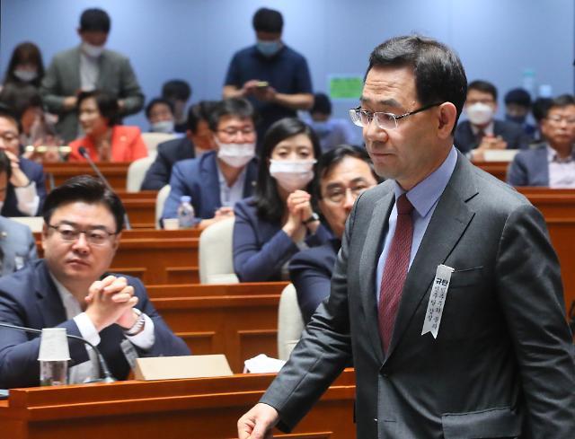 """주호영, 추미애-윤석열 갈등에 """"尹, 국회 직접 불러 상황파악"""""""