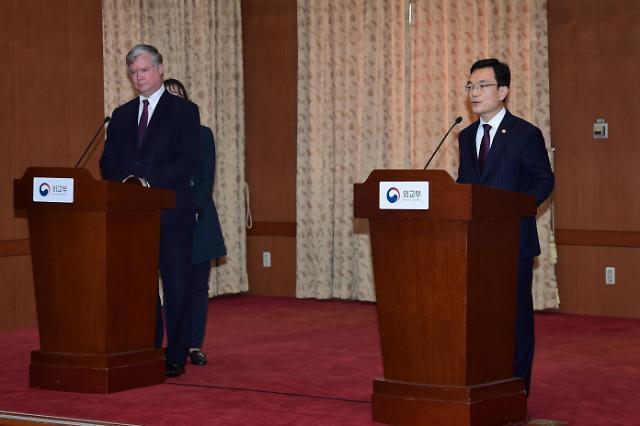 第8次韩美副外长战略对话在首尔举行